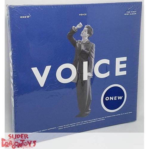 ONEW - VOICE - [BLUE] VERSION - 1ST MINI ALBUM