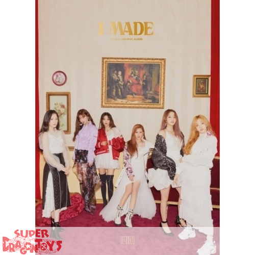 (G)I-DLE - I MADE - 2ND MINI ALBUM