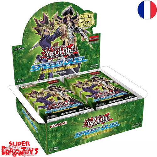 "KONAMI YUGIOH TCG - DISPLAY [36 BOOSTERS] ""SPEED DUEL : L'ARENE DES AMES PERDUES"" - EDITION FRANCAISE"