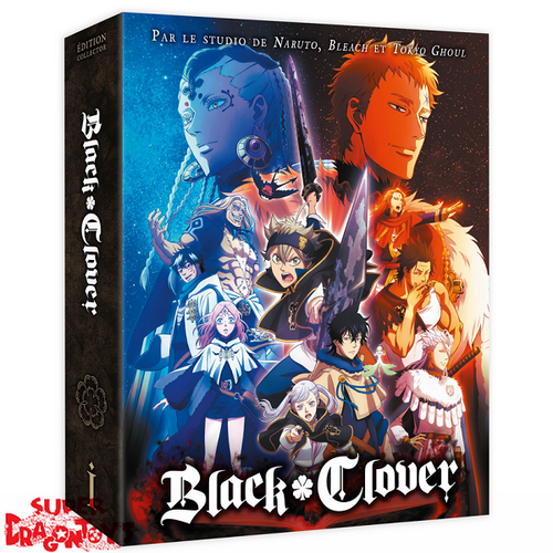 @ANIME BLACK CLOVER - SAISON 1 - EDITION COLLECTOR [DVD]
