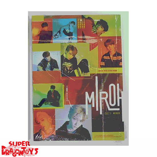 STRAY KIDS - CLE1 : MIROH - [MIROH] VERSION - MINI ALBUM