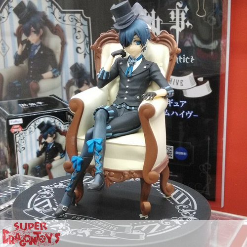 FURYU BLACK BUTLER : BOOK OF ATLANTIC - CIEL PHANTOMHIVE - SPECIAL FIGURE
