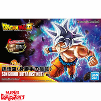 "DRAGON BALL SUPER - SON GOKOU [ULTRA INSTINCT] - ""FIGURE RISE STANDARD"" MODEL KIT"