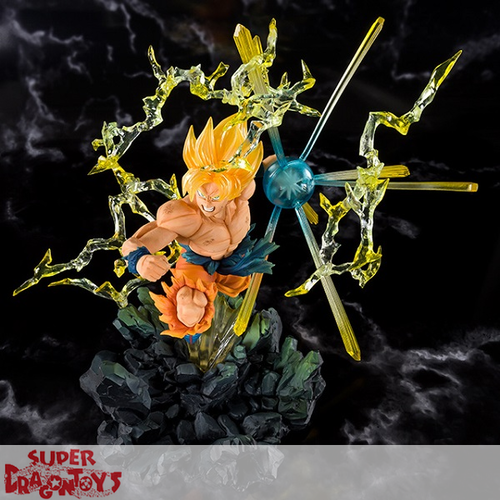 "BANDAI DRAGON BALL Z - SON GOKU - FIGUARTS ZERO ""THE BURNING BATTLE"" EDITION"