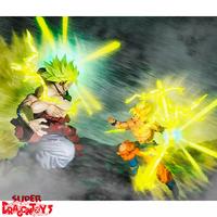 "BANDAI DRAGON BALL Z - SON GOKU - FIGUARTS ZERO ""THE BURNING BATTLE"" EDITION"