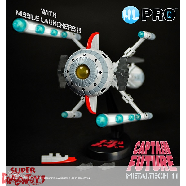 CAPTAIN FUTURE (CAPITAINE FLAM) - FUTURE COMET (CYBERLABE) - METALTECH COLLECTION