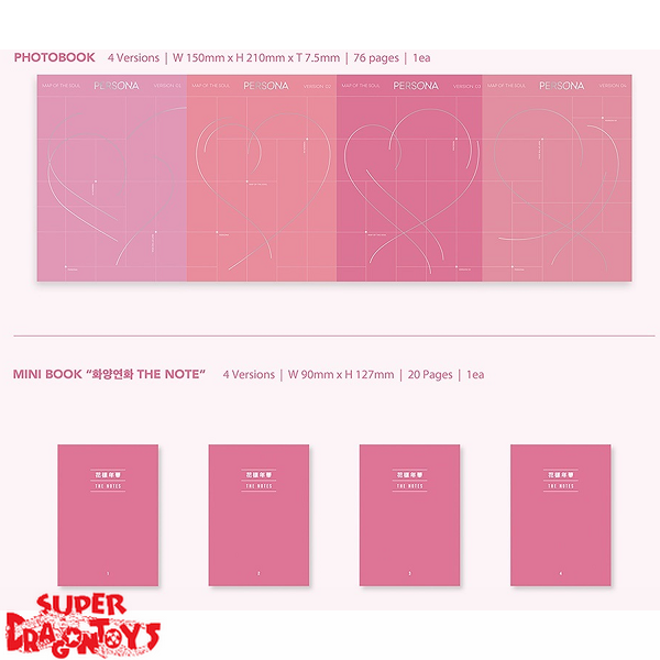 BTS - MAP OF THE SOUL : PERSONA - VERSION [1] - SPECIAL ALBUM