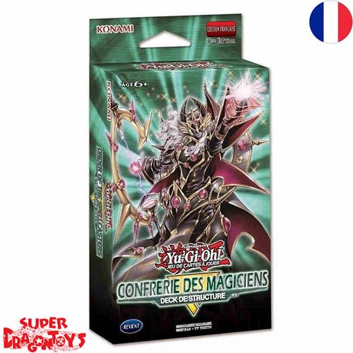"""KONAMI YUGIOH TCG - DECK DE STRUCTURE """"LA CONFRERIE DES MAGICIENS"""" - EDITION FRANCAISE"""