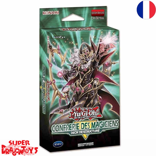 """YUGIOH TCG - DECK DE STRUCTURE """"LA CONFRERIE DES MAGICIENS"""" - EDITION FRANCAISE"""