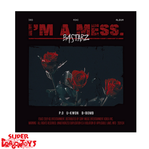 BASTARZ - I'M A MESS - 3RD MINI ALBUM