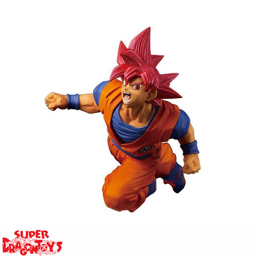 "DRAGON BALL SUPER - SUPER SAIYAN GOD SON GOKOU - ""FES"" FIGURE COLLECTION SERIE 9"