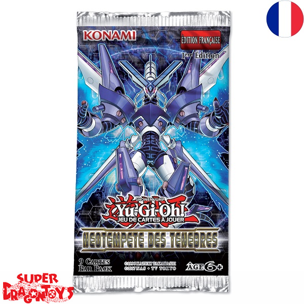 "KONAMI YUGIOH TCG - BOOSTER ""NEOTEMPETE DES TENEBRES"" - EDITION FRANCAISE"