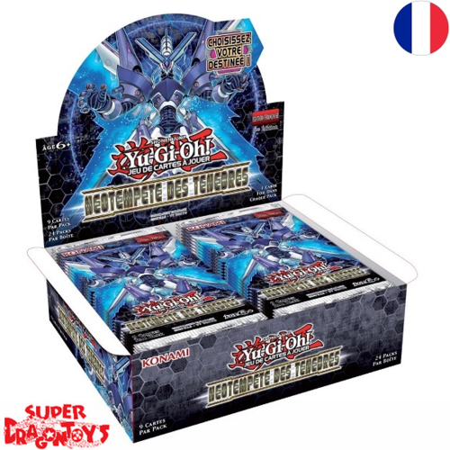 "KONAMI YUGIOH TCG - DISPLAY [24 BOOSTERS] ""NEOTEMPETE DES TENEBRES"" - EDITION FRANCAISE"