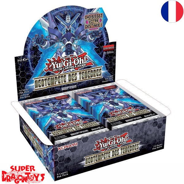 """KONAMI YUGIOH TCG - DISPLAY [24 BOOSTERS] """"NEOTEMPETE DES TENEBRES"""" - EDITION FRANCAISE"""