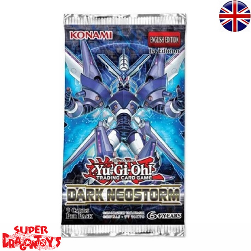 "KONAMI YUGIOH TCG - BOOSTERS ""DARK NEOSTORM"" - ENGLISH EDITION"