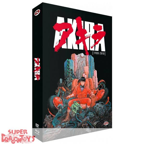 "AKIRA - EDITION COLLECTOR LIMITEE ""30TH ANNIVERSARY"" - COFFRET [FORMAT A4] COMBO [DVD + BLU RAY]"