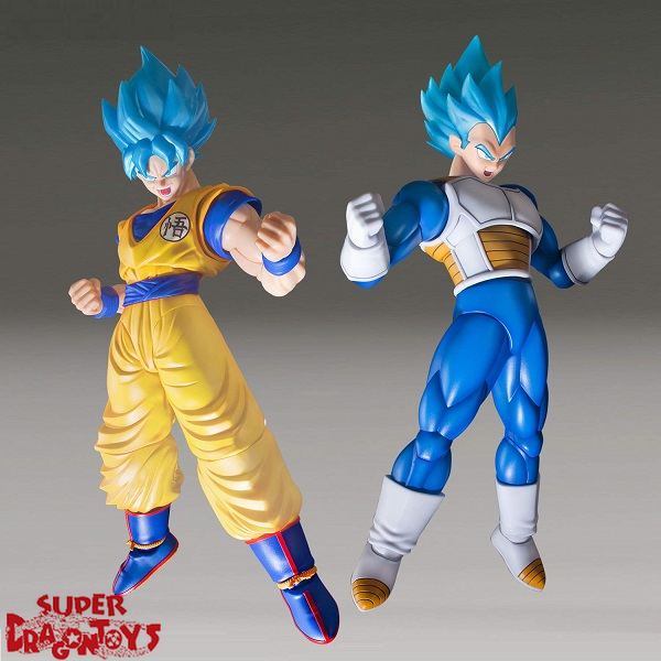 "BANDAI DRAGON BALL SUPER : THE MOVIE [BROLY] - SUPER SAIYAN GOD SUPER SAIYAN VEGETA [SPECIAL COLOR] - ""FIGURE RISE STANDARD"" MODEL KIT"