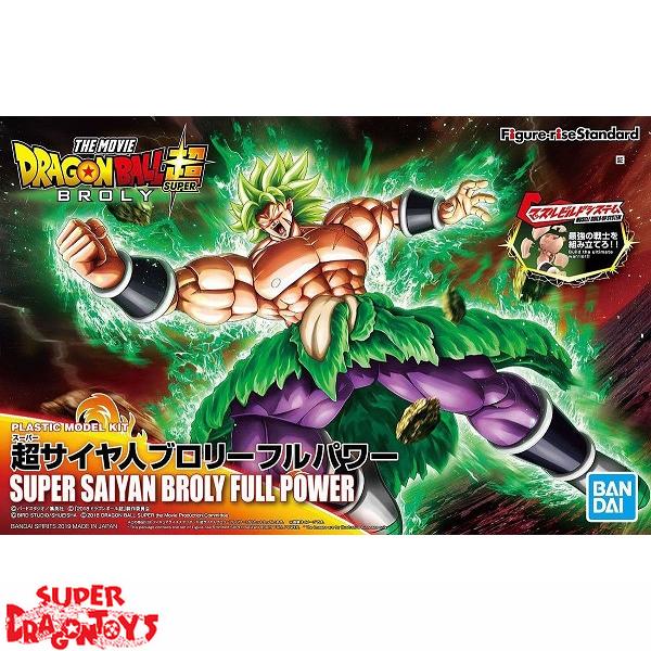 "BANDAI DRAGON BALL SUPER : THE MOVIE [BROLY] - SUPER SAIYAN BROLY [FULL POWER] - ""FIGURE RISE STANDARD"" MODEL KIT"