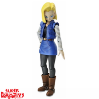 "BANDAI DRAGON BALL Z - ANDROID 18 - ""FIGURE RISE STANDARD"" MODEL KIT"