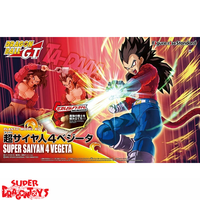 "BANDAI DRAGON BALL GT - SUPER SAIYAN 4 VEGETA - ""FIGURE RISE STANDARD"" MODEL KIT"