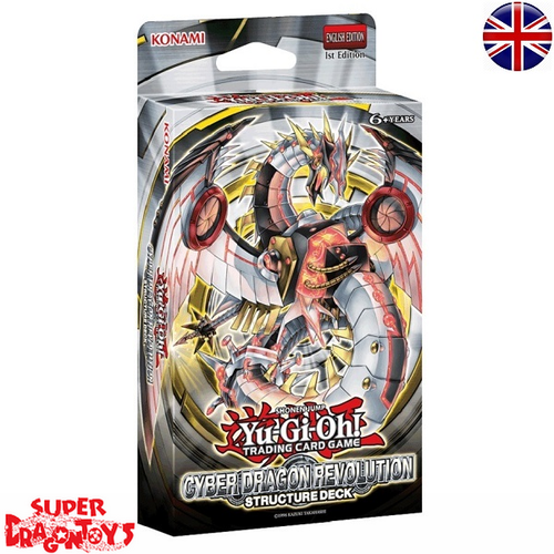 "KONAMI YUGIOH TCG - STRUCTURE DECK ""CYBER DRAGON REVOLUTION"" - ENGLISH EDITION"