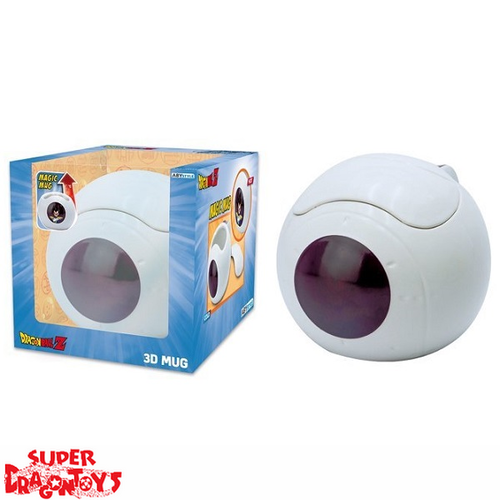 "DRAGON BALL Z - MUG [3D] MAGIQUE THERMO REACTIF ""SAIYAN POD VEGETA"""