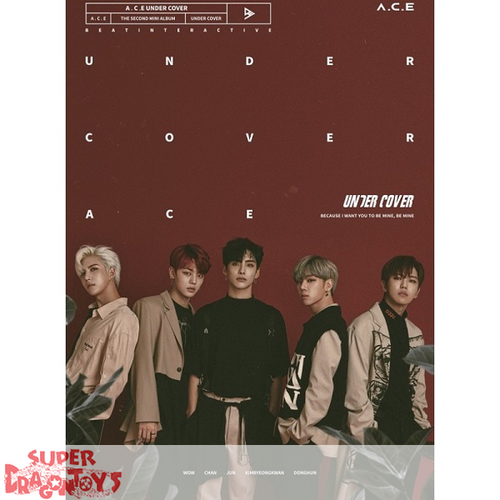 A.C.E - UNDER COVER - 2ND MINI ALBUM