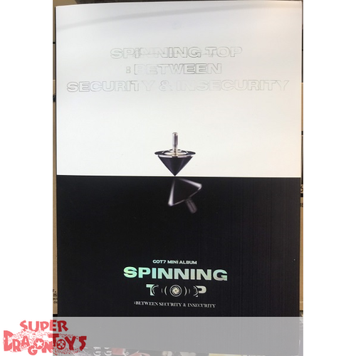 GOT7 - SPINNING TOP : BETWEEN SECURITY & INSECURITY - [INSECURITY] VERSION - 4TH ALBUM