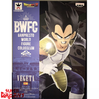 BANPRESTO  DRAGON BALL Z - VEGETA - BANPRESTO WORLD FIGURE COLOSSEUM [2018]