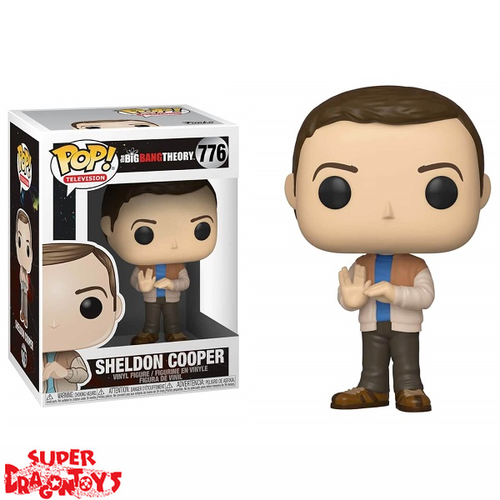 THE BIG BANG THEORY - SHELDON COOPER - FUNKO POP