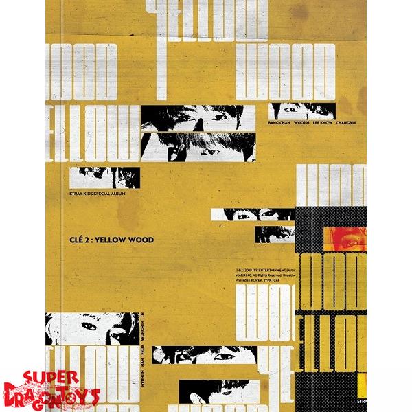 STRAY KIDS - CLE2 : YELLOW WOOD - [CLE2] VERSION - MINI ALBUM
