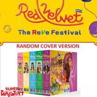 """RED VELVET - """"THE REVE FESTIVAL"""" DAY 1 - (RANDOM COVER) [DAY 1] VERSION - MINI ALBUM"""