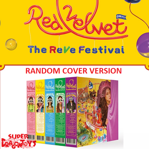 "RED VELVET - ""THE REVE FESTIVAL"" DAY 1 - (RANDOM COVER) [DAY 1] VERSION - MINI ALBUM"