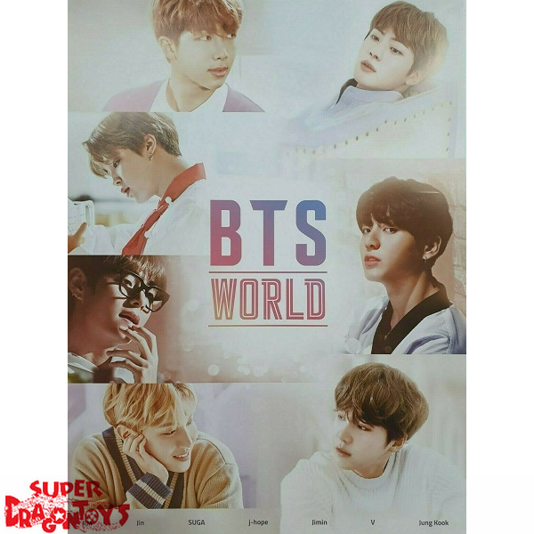 "BTS - ""BTS WORLD OST"" OFFICIAL POSTER"