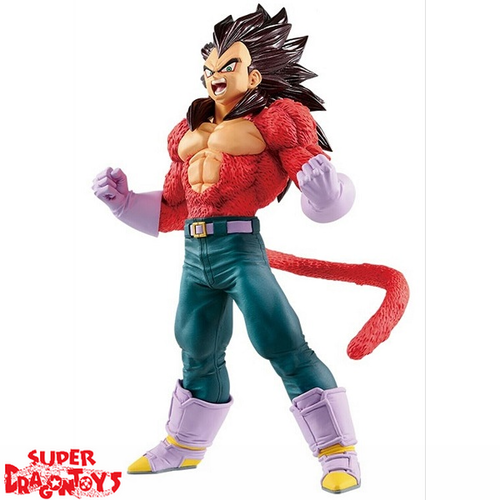 BANPRESTO  DRAGON BALL GT - SUPER SAIYAN 4 VEGETA - BLOOD OF SAIYANS [SPECIAL EDITION] COLLECTION