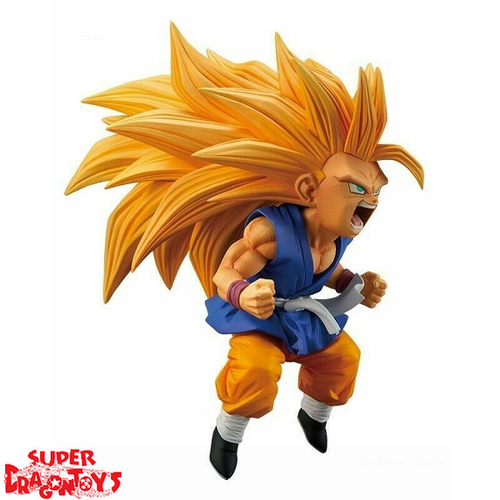 "DRAGON BALL SUPER - SUPER SAIYAN 3 SON GOKOU [CHIBI VERSION] - ""FES"" FIGURE COLLECTION SERIE 10"
