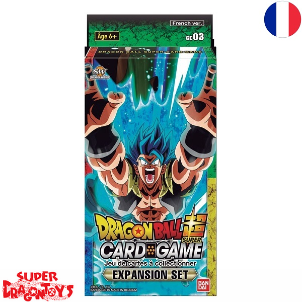 """DRAGON BALL SUPER TCG - PACK """"EXPANSION SET"""" - EDITION FRANCAISE"""