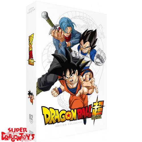 DRAGON BALL SUPER - PART 2 - EDITION COLLECTOR - COFFRET [FORMAT A4] DVD