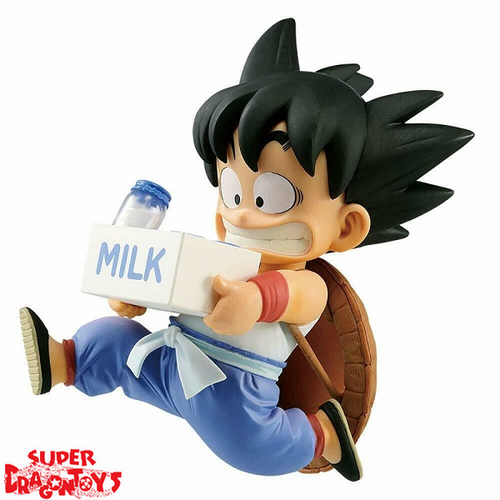 BANPRESTO  DRAGON BALL - SON GOKOU [CHIBI WITH MILK VER.] - BANPRESTO WORLD FIGURE COLOSSEUM [2018]