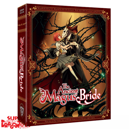 @ANIME THE ANCIENT MAGUS BRIDE - SAISON 1 - EDITION COLLECTOR - COFFRET BLU RAY