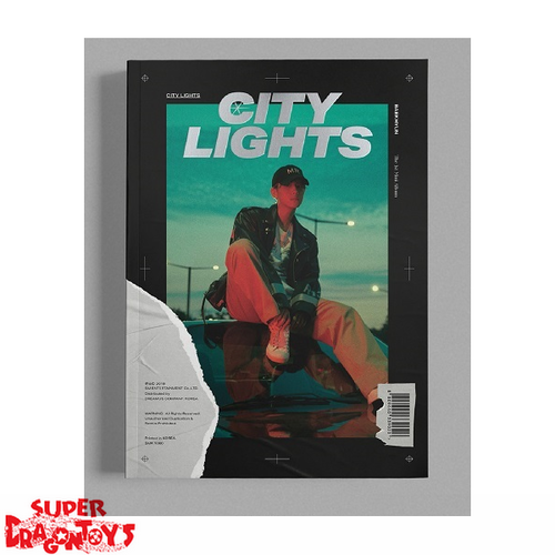 BAEKHYUN - CITY LIGHTS - [NIGHT] VERSION - 1ST MINI ALBUM