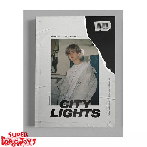 BAEKHYUN - CITY LIGHTS - [DAY] VERSION - 1ST MINI ALBUM