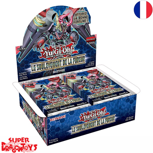 "KONAMI YUGIOH TCG - DISPLAY [24 BOOSTERS] ""LE SOULEVEMENT DE LA FUREUR"" - EDITION FRANCAISE"