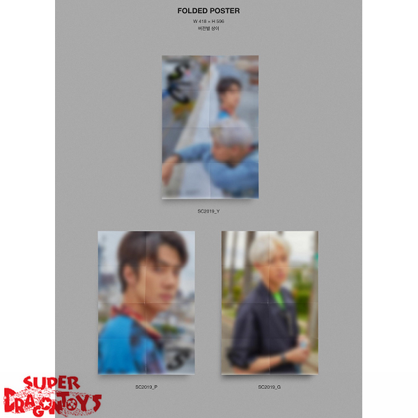 EXO-SC - WHAT A LIFE - [SC2019_Y] VERSION - 1ST MINI ALBUM