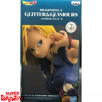 "BANDAI DRAGON BALL Z - ANDROID 18 [BLUE TOP] - ""GLITTER & GLAMOURS"" [2ND VERSION] COLLECTION"