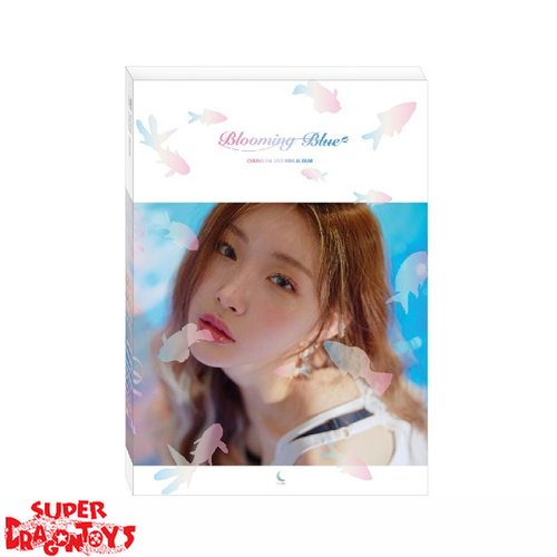 CHUNG HA - BLOOMING BLUE - 3RD MINI ALBUM