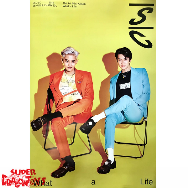 """EXO-SC - """"WHAT A LIFE"""" OFFICIAL POSTER"""