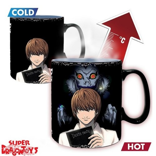 "DEATH NOTE - MUG MAGIQUE THERMO REACTIF ""KIRA & L"""