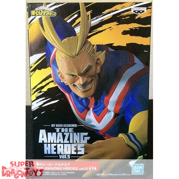 "MY HERO ACADEMIA - ALL MIGHT - DXF FIGURE ""THE AMAZING HEROES"" VOL.5"