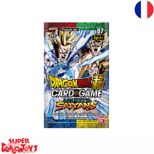 "DRAGON BALL SUPER TCG - BOOSTER ""ASSAULT OF THE SAIYANS"" [B07] - EDITION FRANCAISE"